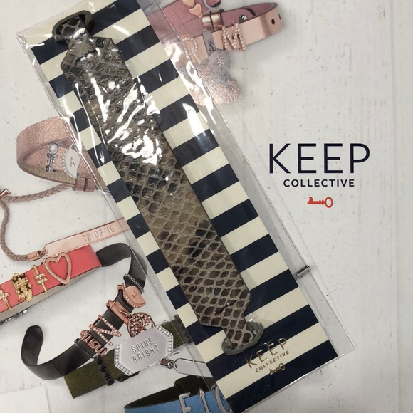 KEEP Collective Jewelry - NWT. Keep Collective wide cuff